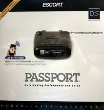 NEW Escort PASSPORT Long-Range Radar Detector w/ Multi-Color OLED Display