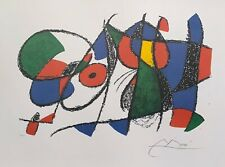 "Joan Miro VOLUME II LITHO VIII Signed Limited Edition Lithograph Art 18"" x 24"""