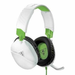 Turtle Beach Recon 70X Over the Ear Headphone - White/Green