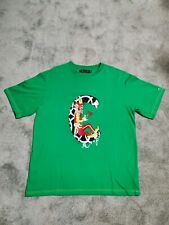 Vintage Coogi T Shirt Embroidered Clown Big C Size 2XL