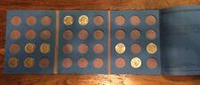 1971 - 1998 Kennedy Half dollar in a Whitman Folder Coin Folder