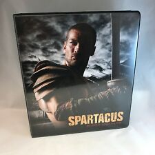 BINDER SALE: ALBUM FOR SPARTACUS BLOOD AND SAND Cards by Rittenhouse 2011