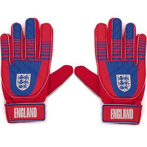 England Boys Gloves Goalie Goalkeeper Kids Youths OFFICIAL Football Gift