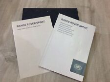 RANGE ROVER SPORT  HANDBOOK  OWNERS MANUAL 2013-2016  COVERS +SAT NAV system