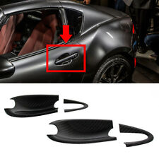 Carbon Fiber For Mazda MX-5 Miata Convertible ND Out Side Door Bowl Cover 17 GT