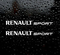 RENAULT SPORT X2 CAR STICKER JDM FUNNY CLIO MEGANE TWINGO LAGUNA CAR/VAN/LAPTOP