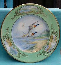 Stunning Rare Royal Cauldon 27cm cabinet plate signed J.Brough ? WW2 interest