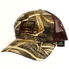 "NEW BANDED GEAR TRUCKER CAP HAT MAX-5 CAMO BROWN MESH W/ ""b"" LOGO ADJUSTABLE"