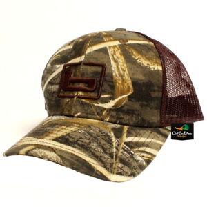 "NEW BANDED GEAR TRUCKER CAP HAT MAX-5 CAMO BROWN MESH W/ ""b"" LOGO ADJUSTABLE"