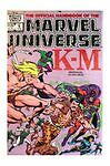 The Official Handbook of the Marvel Universe K-M Comic Book 1983 June #6 FN