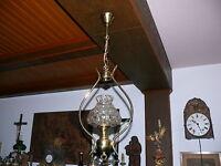 50er Jahre Lampe Deckenlampe Leuchte Petroleumlampen Stil elektrisch