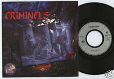 """CRIMINELS Ready anytime FRENCH indie rock 7"""" 45 SLIM Prod. MINT"""