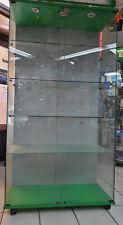 Vetrina esposizione commerciale per negozio misure 105x50x200 cm usata