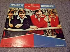 """The Good Twins """"Share It Brother"""" SINGCORD LP ZLP-927 DWIGHT AND DWAYNE"""