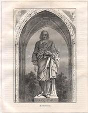 Blaise Pascal  1883  xilografia