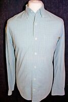 TIMBERLAND Mens Blue Check Long Sleeved Shirt Size Small