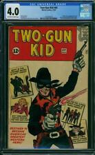 TWO-GUN KID #60 CGC 4.0 VG - 1962, Origin and 1st new Two-Gun Kid (Matt Hawk)