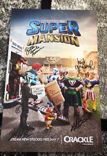 SUPERMANSION Cast Signed Poster! WonderCon 2018 Exclusive! Yvette Nicole Brown