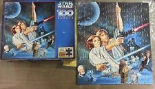 Star Wars Empire Strikes Back Used 100 Piece Jigsaw Puzzle Rose Art #08062 1996