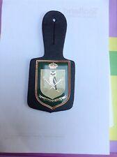 breloque insigne militaire belge