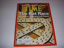 TIME Magazine, April 24, 1989, THE RAT RACE HOW AMERICA IS RUNNING ITSELF RAGGED
