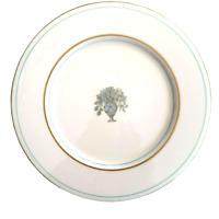 Castleton China DORSET Dinner Plate Flat Rim 10 5/8 Inch US Made Vintage