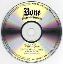 Bone Thugs-N-Harmony: Lil Love 4 Track PROMO MUSIC AUDIO CD A Capella Mariah Bow