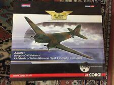 Corgi Die Cast limited Edition Die Cast Douglas C47 Dakota RAF Aircraft