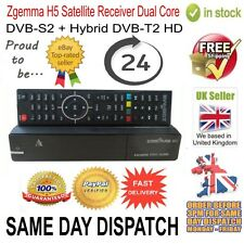 Genuine Zgemma H5 Satellite TV Receiver Dual Core DVB-S2 Hybrid DVB-T2 Combo Box