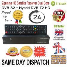 Zgemma H5 Satellite TV Receiver Dual Core DVB-S2 Hybrid DVB-T2 (CABLE) Combo Box