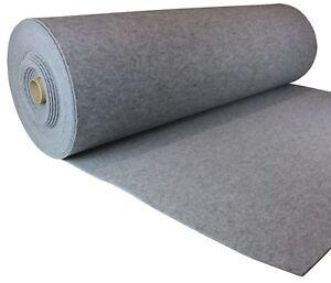 Grau Filz Filzstoff 100x150cm Meterware 5,5mm Stark