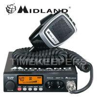 Midland 78 Plus 80 Channel AM FM Multi Band CB Transceiver Radio & Microphone