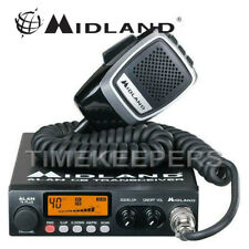 Midland 78 Plus 80 Channel AM FM Multi Band CB Transceiver Radio & Microphone