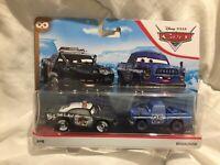 Disney Pixar Cars APB & BROADSIDE CRAZY 8 2020 MATTEL 1:55 DIECAST TOKYO DRIFT