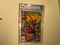 1982 UNCANNY X-MEN # 155 CGC GRADED 9.4, 1ST APPEAR. OF THE BROOD & STARJAMMERS