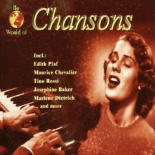 World of Chansons (#zyx11163) | 2 CD | Edith Piaf, Maurice Chevalier, Tino Ro...