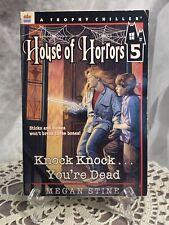 Knock, Knock . . . You're Dead by Megan Stine