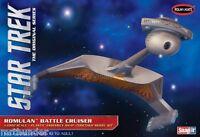 Star Trek Romulan Battle Cruiser Construction Model Kit Polar Lights