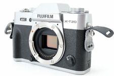 Fujifilm X-T20 24.3MP Digital Camera Silver Body [Exc+++] w/8GB SD Card [898]