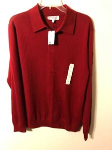 NWTS TURNBURY long sleeve Fine Merino Wool Sweater shirt Sz Medium