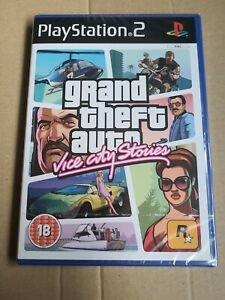 Grand Theft Auto Vice City Stories PS2 Game - brand new sealed PlayStation 2
