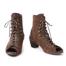 (SALE) LIMI feu open toe suede zip boots Size US 7~7.5(K-22033)