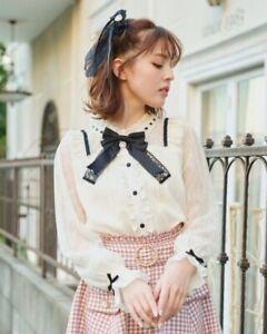 LIZ LISA - Lace Blouse (japan kawaii lolita harajuku)