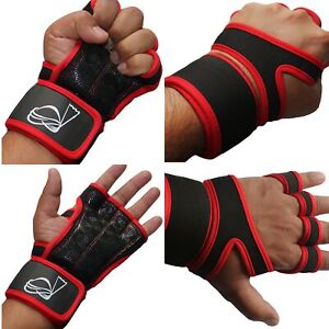 QHA Unisex Crossfit Gloves Gym Weight Lifting Exercise Bodybuilding Training Q59
