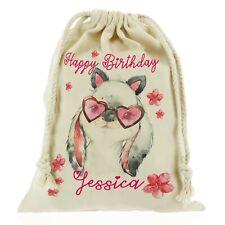 Personalizzato Compleanno Regalo Borsa Per Ragazze Coniglio, Cavallo, Cervo Con