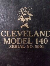 Cleveland Trencher Utility 140 Crawler Tractor Owners Amp Parts Manual Trenching