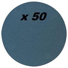 lot de 50 disques abrasifs Ø 180 mm - grain 40