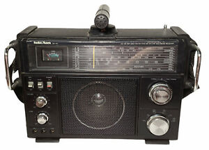 Radio Shack Vintage Multiband Receiver SW-100 CB SW TV VHF