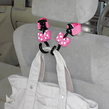 New DISNEY Minnie Mouse Seats handbag hook bag hanger holder Car Accessories
