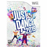 Just Dance 2019 WII Nintendo Wii Brand New Sealed